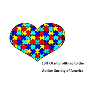 10% Of All Proceeds Go to The Autism Society
